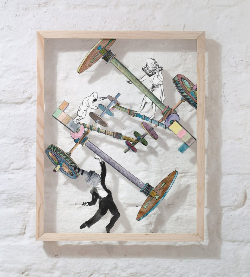 """""""Perpetual Dance"""" by Kaori Nakajima, """"MIND THE GAP"""" Exhibition at MUNIKAT, Munich"""
