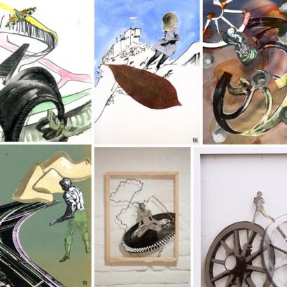 Collage & Paper Works by Kaori Nakajima