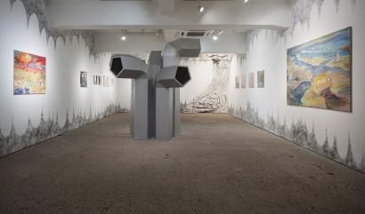 """Deep Dig Dug"" Exhibition at Tokyo Wonder Site Hongo"