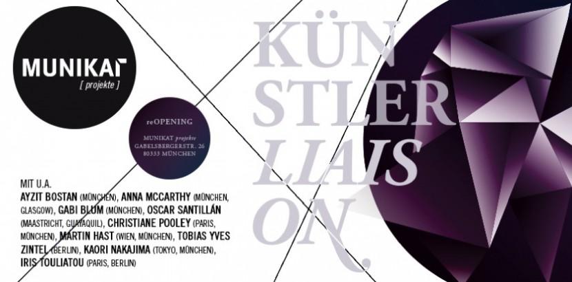 """""""Künstlerliaison"""" Exhibition at MUNIKAT, Munich"""
