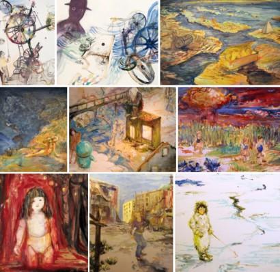 Paintings by Kaori Nakajima