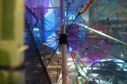 """TUMBLEWEED - Tsumuji"" - Martin Hast, installation"