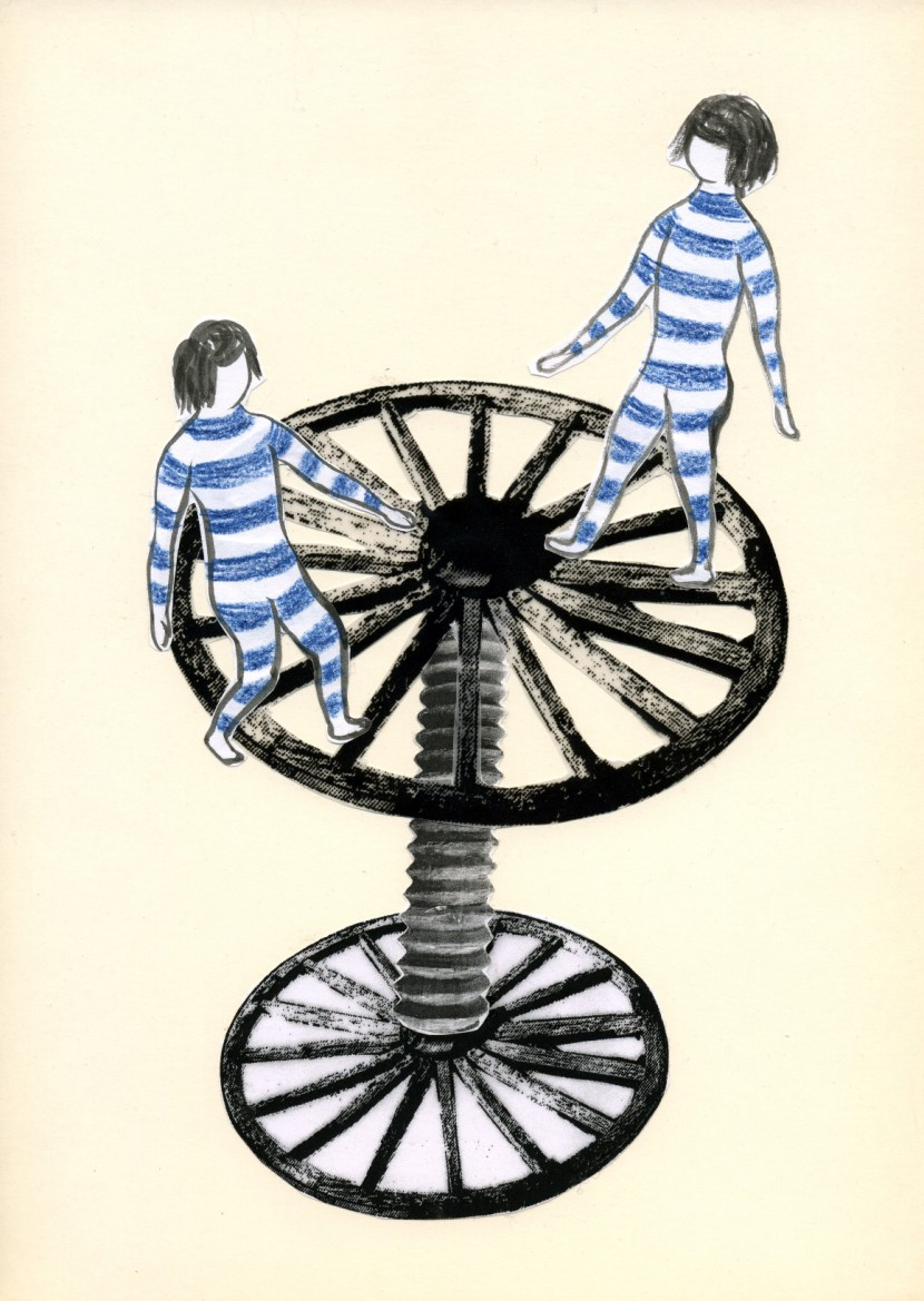 """WheelBuster"" Series #09, 2012"